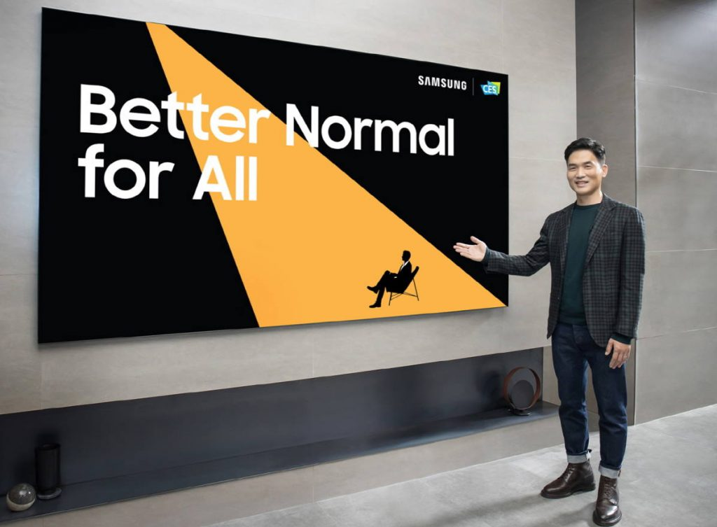 CES 2021 Samsung 110 inch MICRO LED