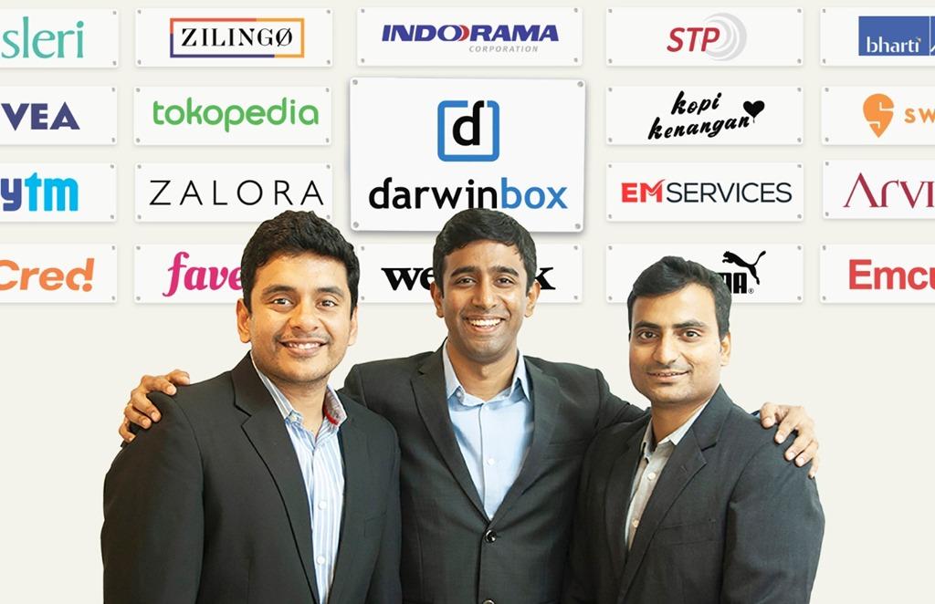 Founder Darwinbox [Chaitanya Peddi, Jayant Paleti, dan Rohit Chennamaneni]