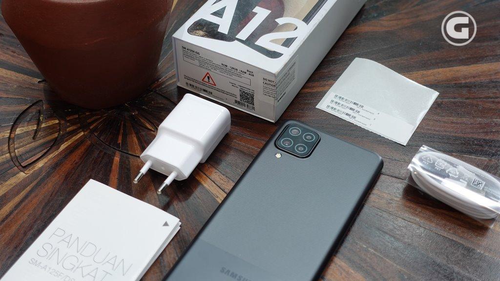 Kelengkapan Samsung Galaxy A12