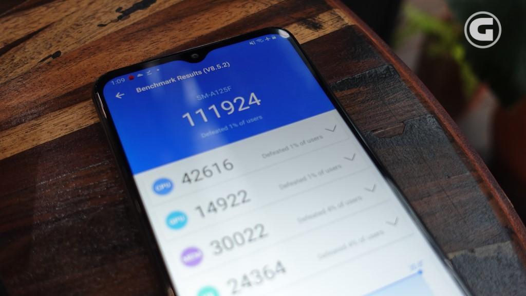 Skor Antutu Samsung Galaxy A12