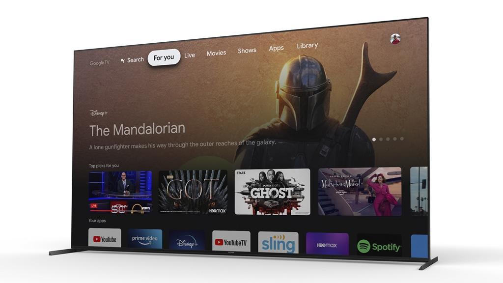 Sony Bravia XR - Google TV