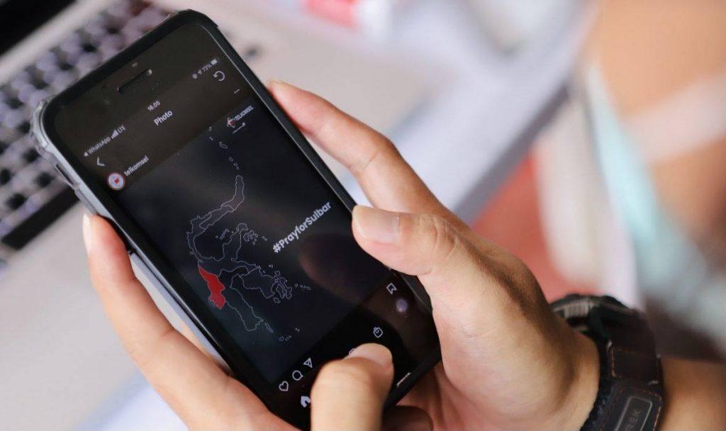 Telkomsel Gempa Mamuju Majene