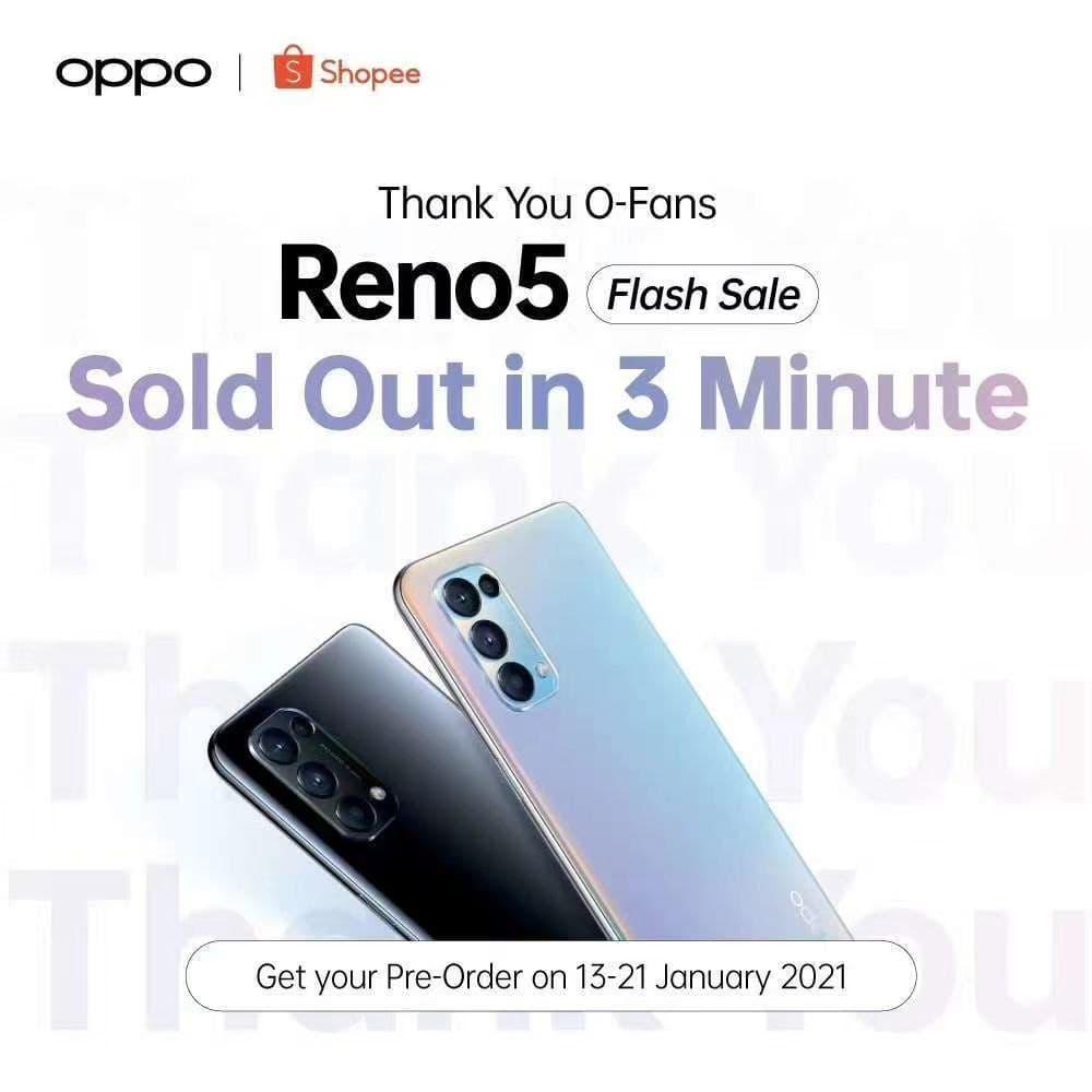 OPPO Reno5 - Shopee