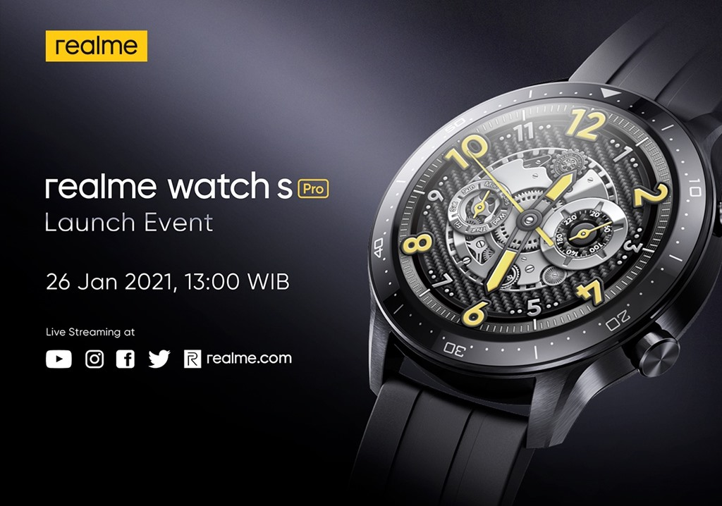 realme Watch S Pro launch date