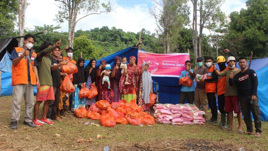3 Indonesia bantuan Sulawesi Barat