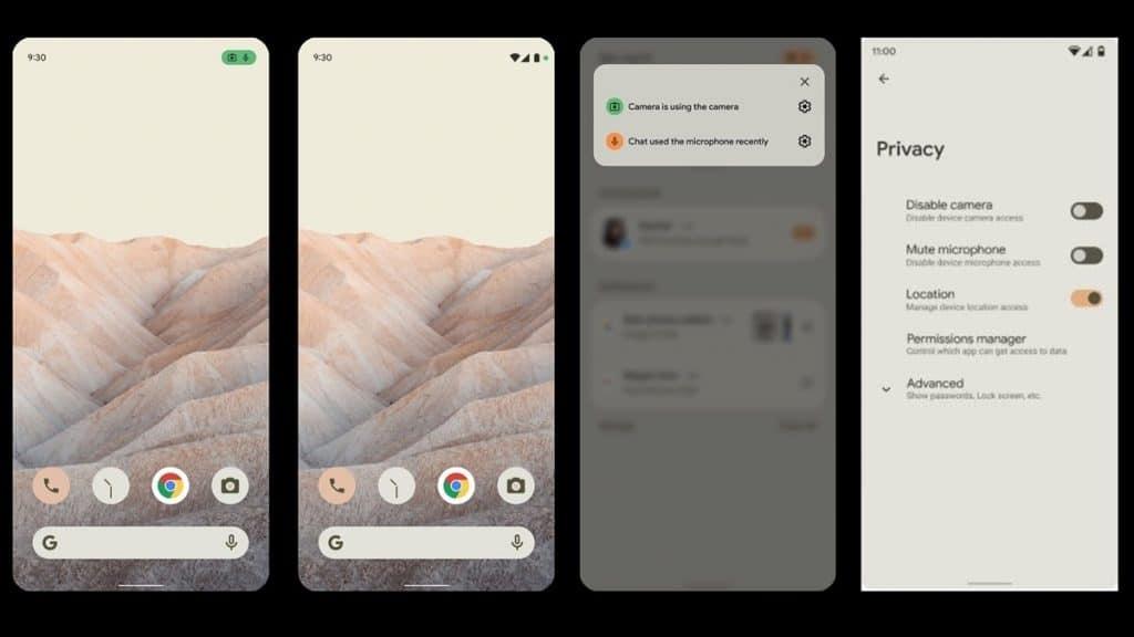 Keamanan Android 12