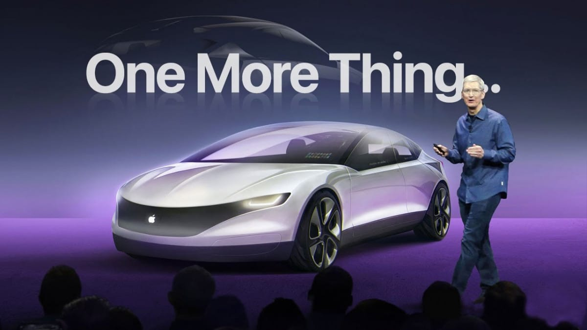 mobil listrik apel