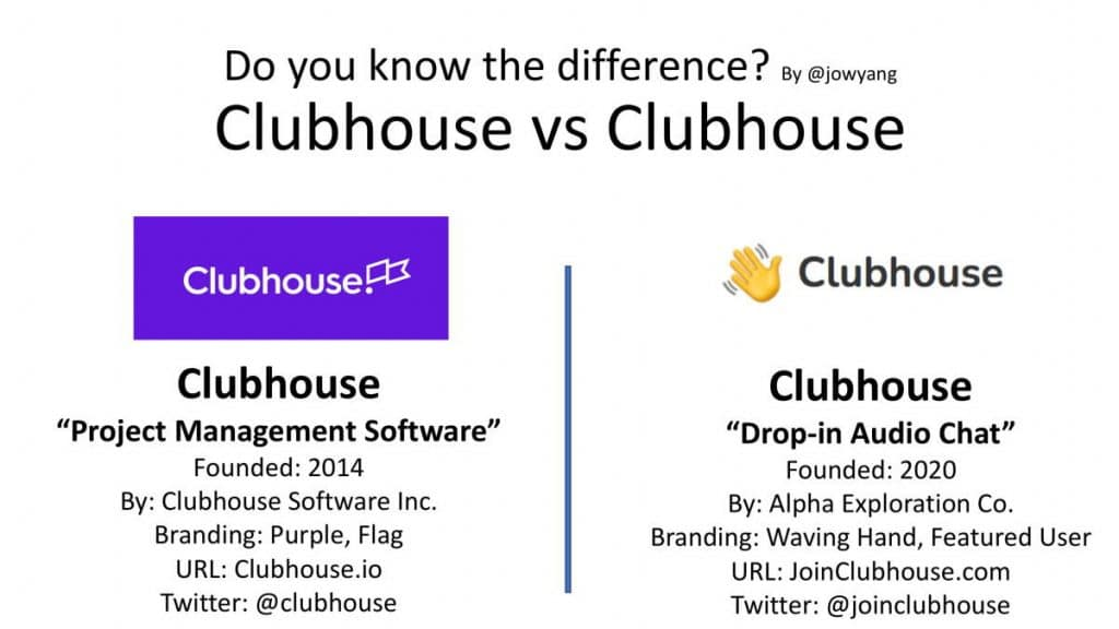 Clubhouse vs Clubhouse