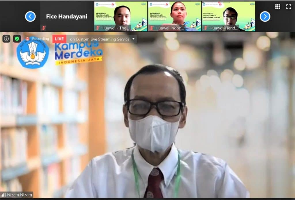 Huawei Clound E-Learning - Dirjen DIKTI Kemdikbud
