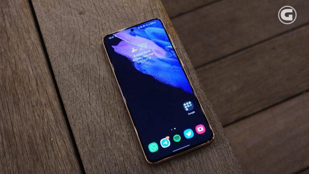 Layar Samsung Galaxy S21 5G