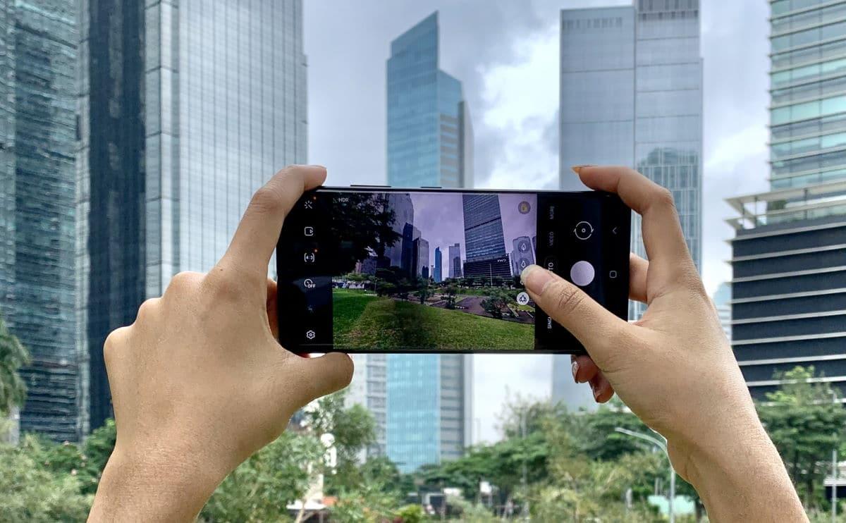kamera Samsung Galaxy S21 Ultra kamera