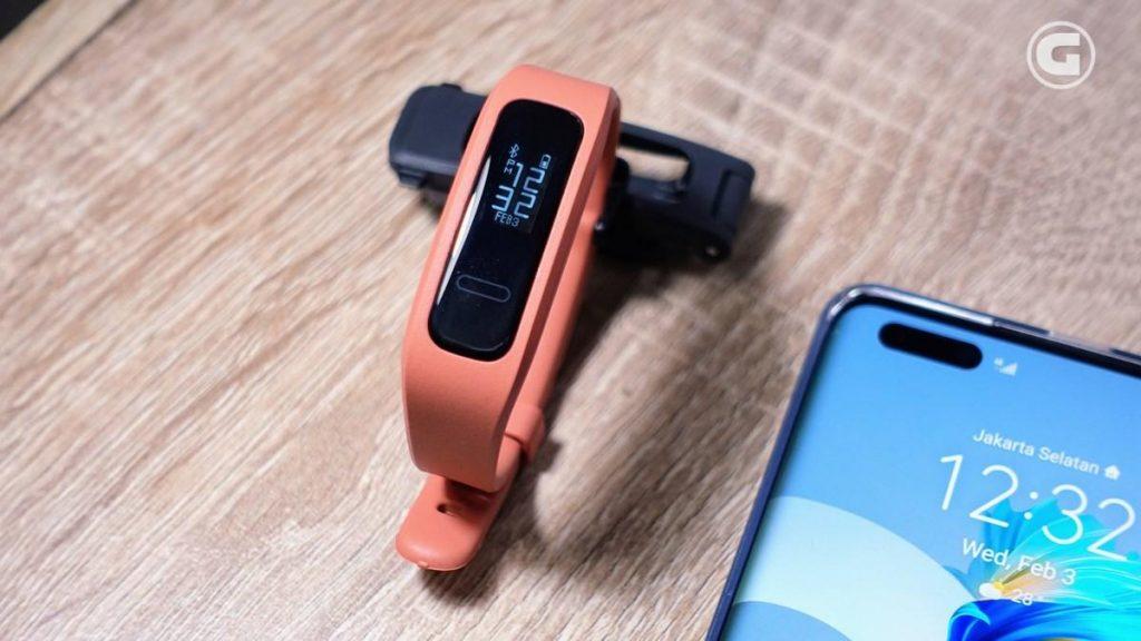 Desain Huawei Band 4e