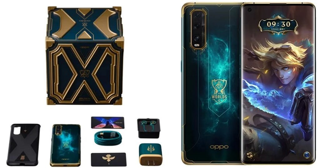 OPPO Find X2 Pro League of Legends