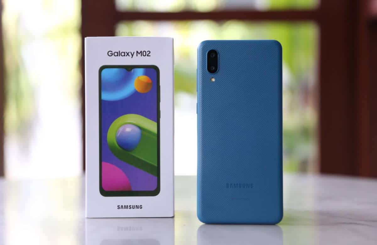 Samsung Galaxy M02 Spesifikasi