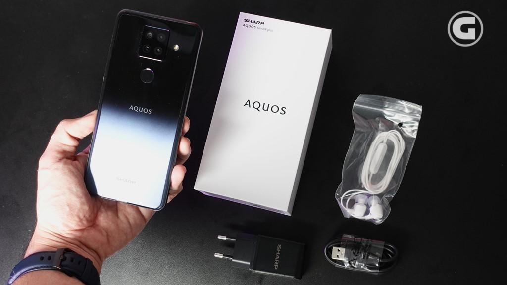 Kelengkapan Sharp AQUOS Sense 4 Plus