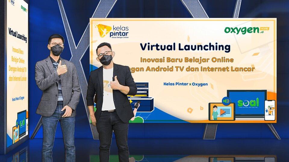 Virtual Launching Kelas Pintar dan