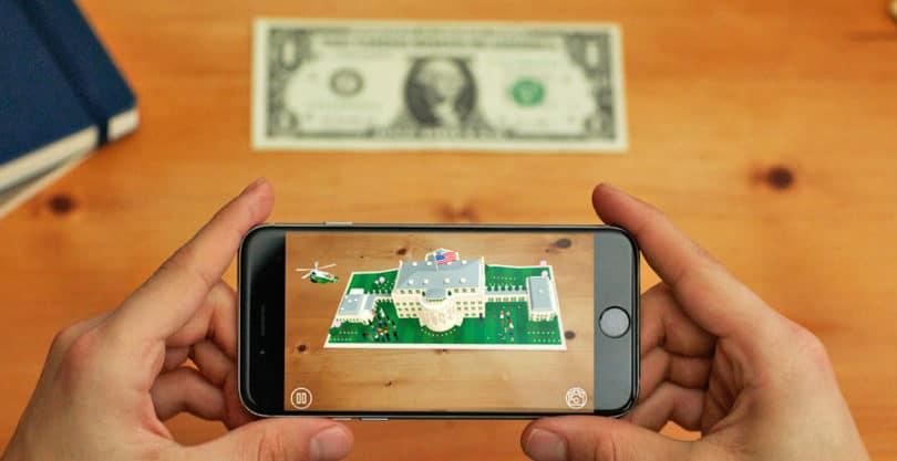 ilustrasi augmented reality