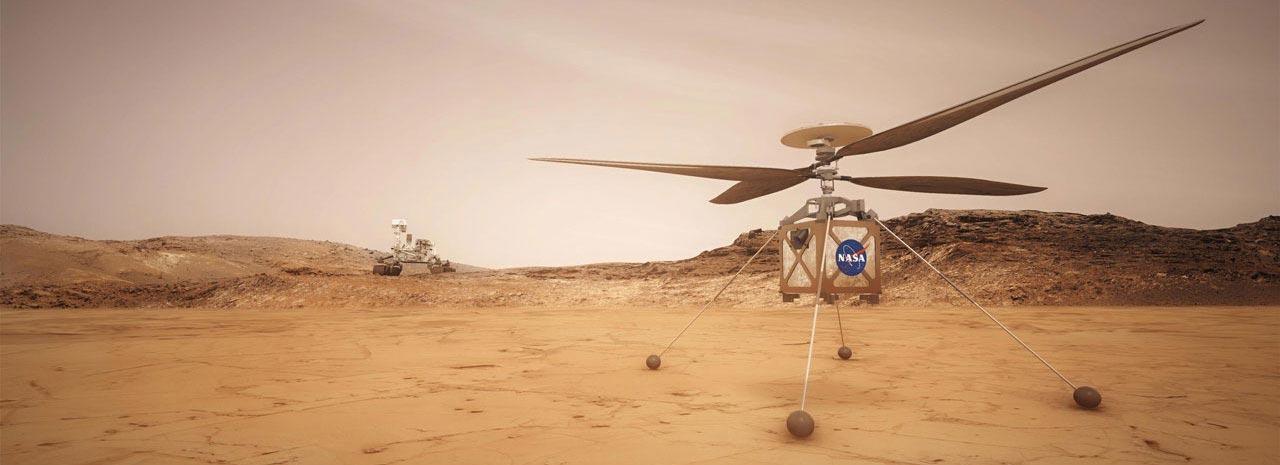 Helikopter Mars