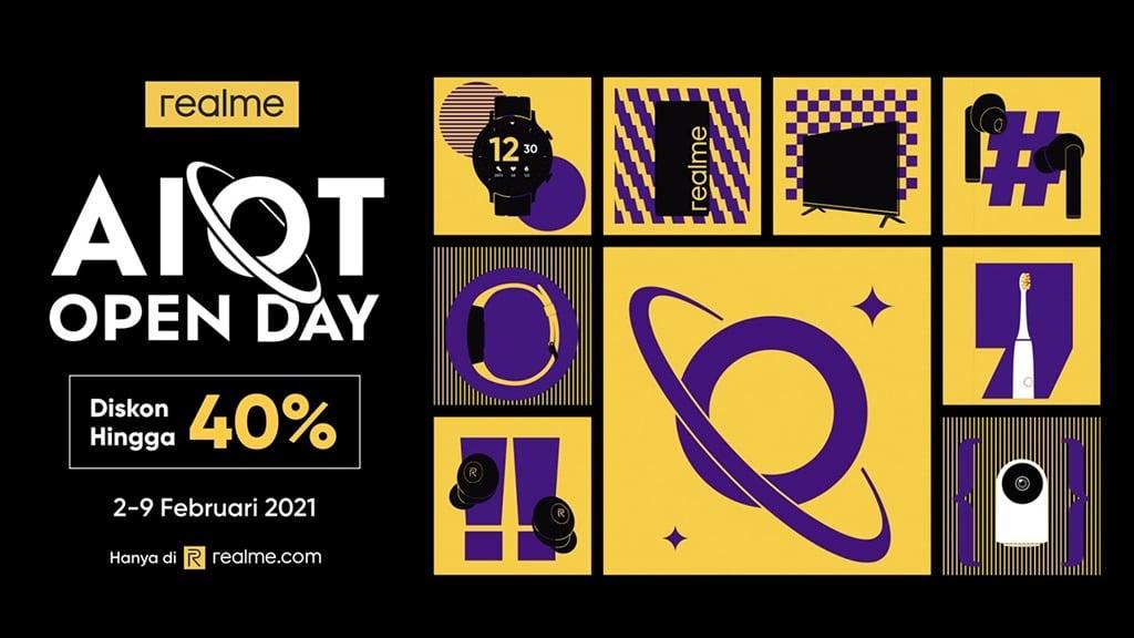realme AIoT Open Day Promo