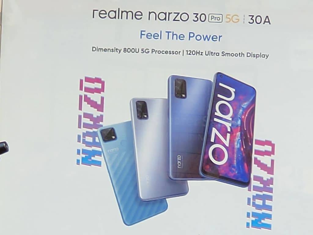 Poster realme narzo 30 series