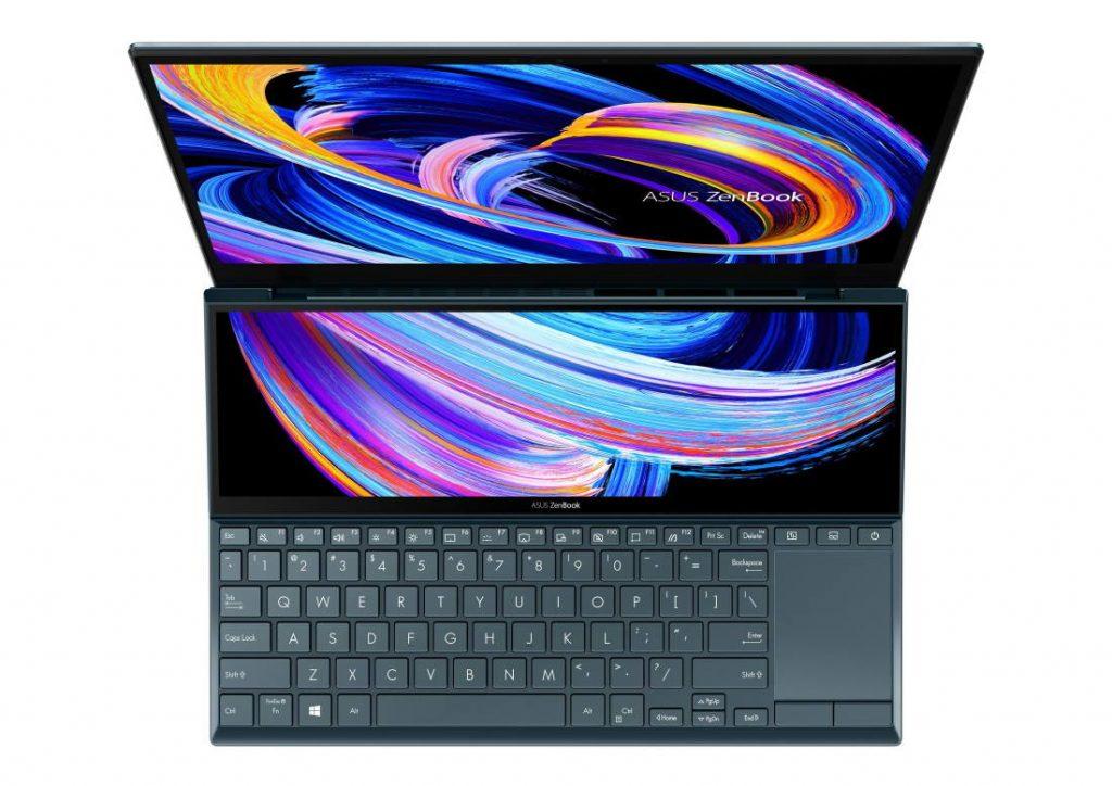 Asus ZenBook Duo 14 (UX482) layar