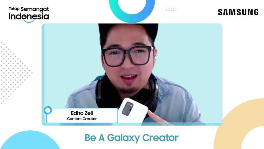 Edho Zell - Samsung Be A Galaxy Creator