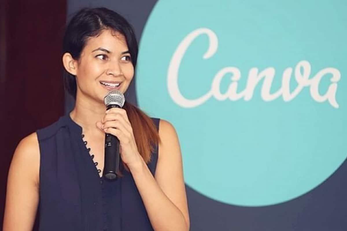 Founder of Canva Melanie Perkins