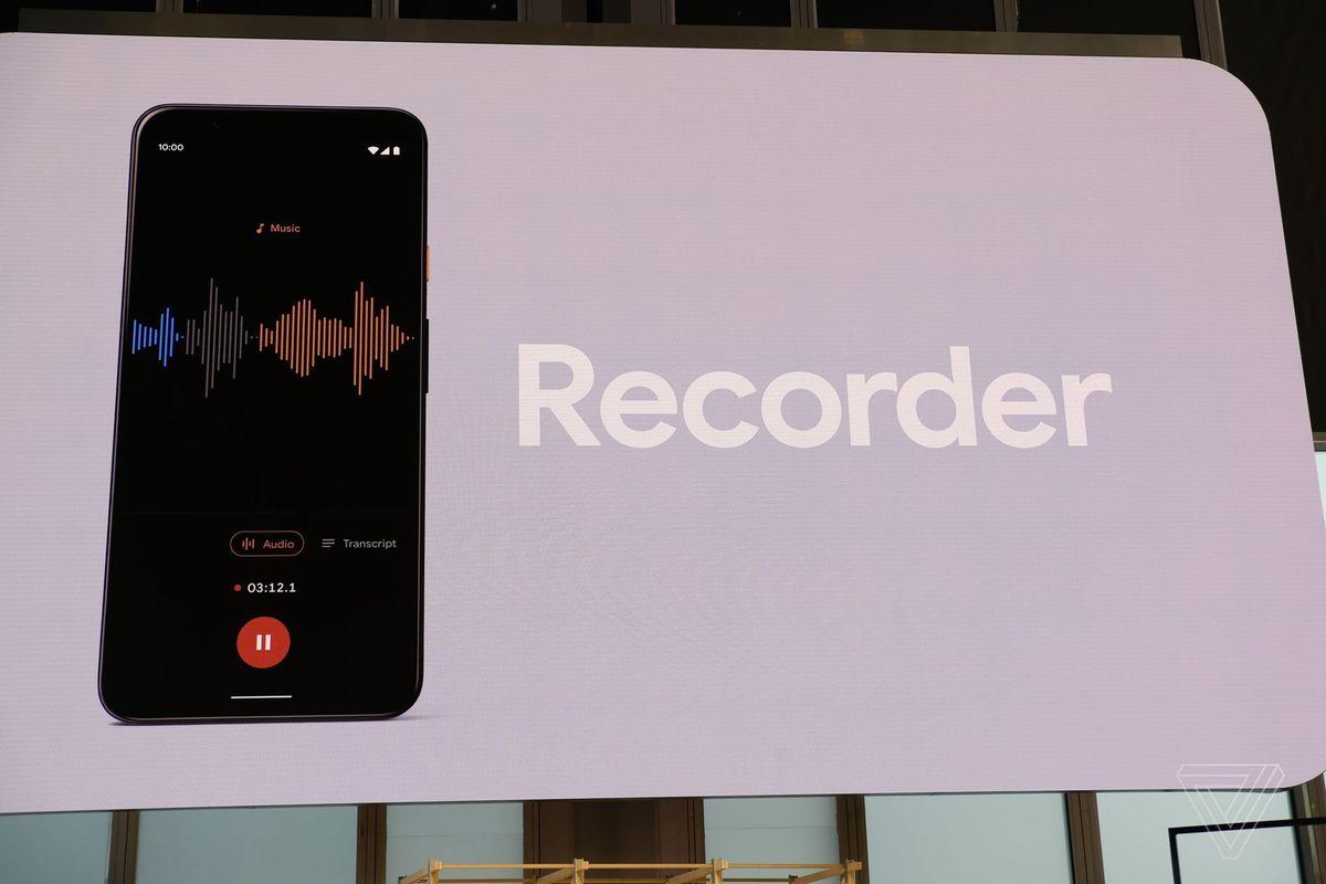 Google Recorder