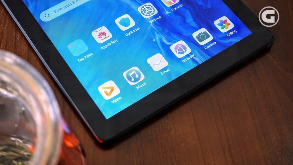 Layar Huawei MatePad T10