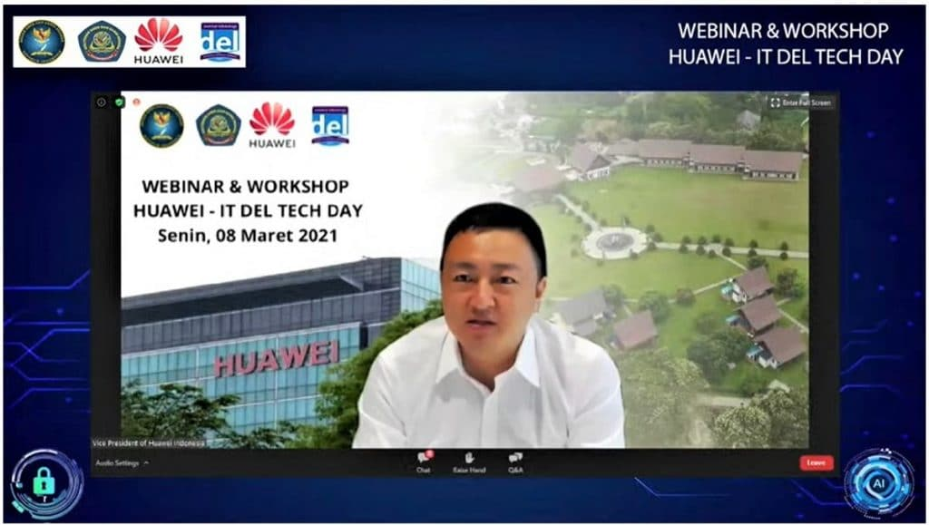 Ken Qi, Vice President Public Affairs and Communications Huawei Indonesia