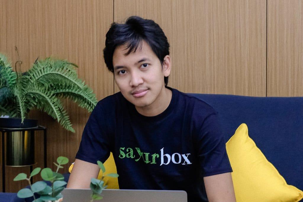 Listiarso Wastuargo, Vice President of Engineering at Sayurbox