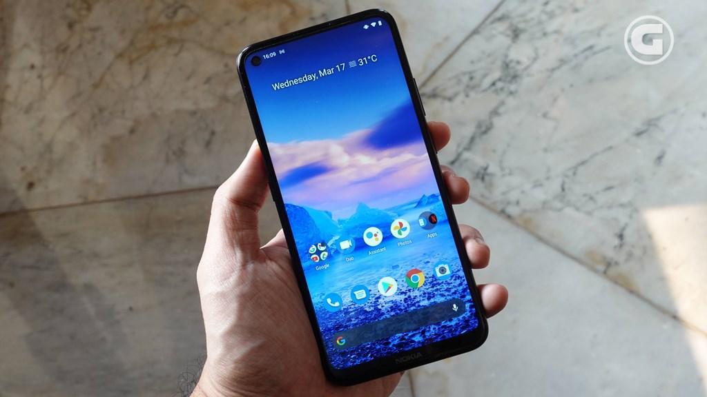 Layar Nokia 5.4