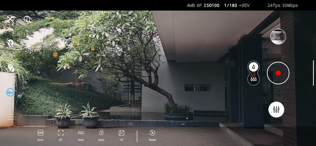Nokia 5.4 - cinema mode
