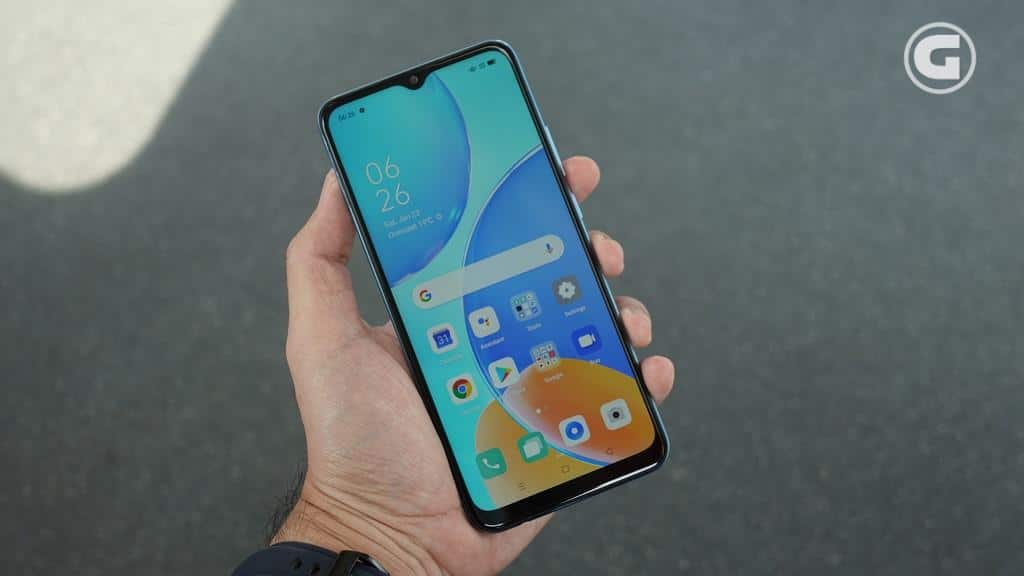 Layar OPPO A15s