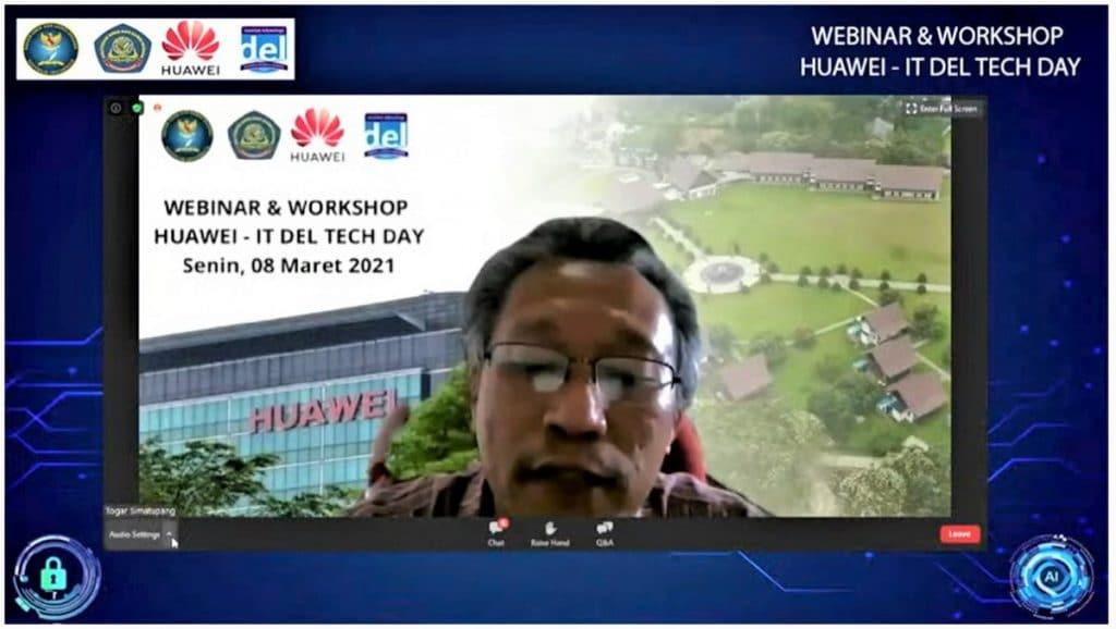 Rektor IT Del, Prof. Ir. Togar M. Simatupang M. Tech., Ph.D