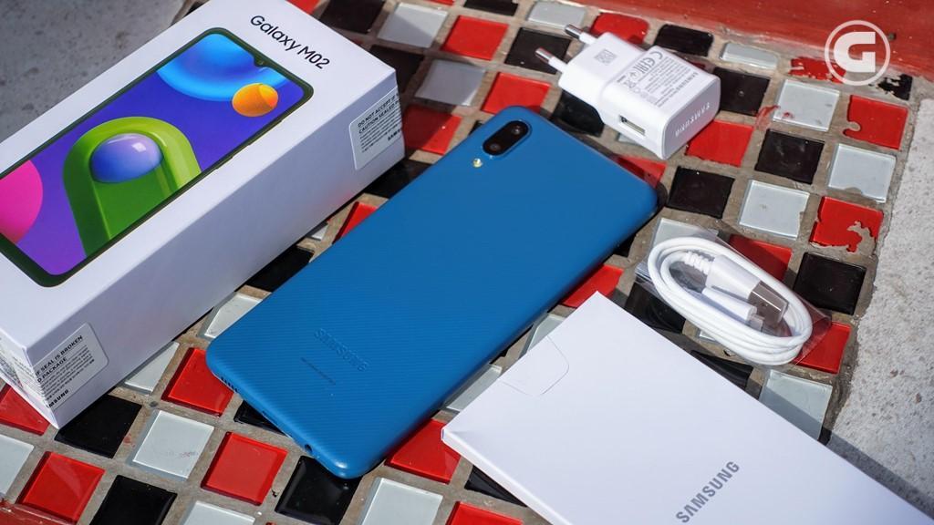 Kelengkapan Samsung Galaxy M02