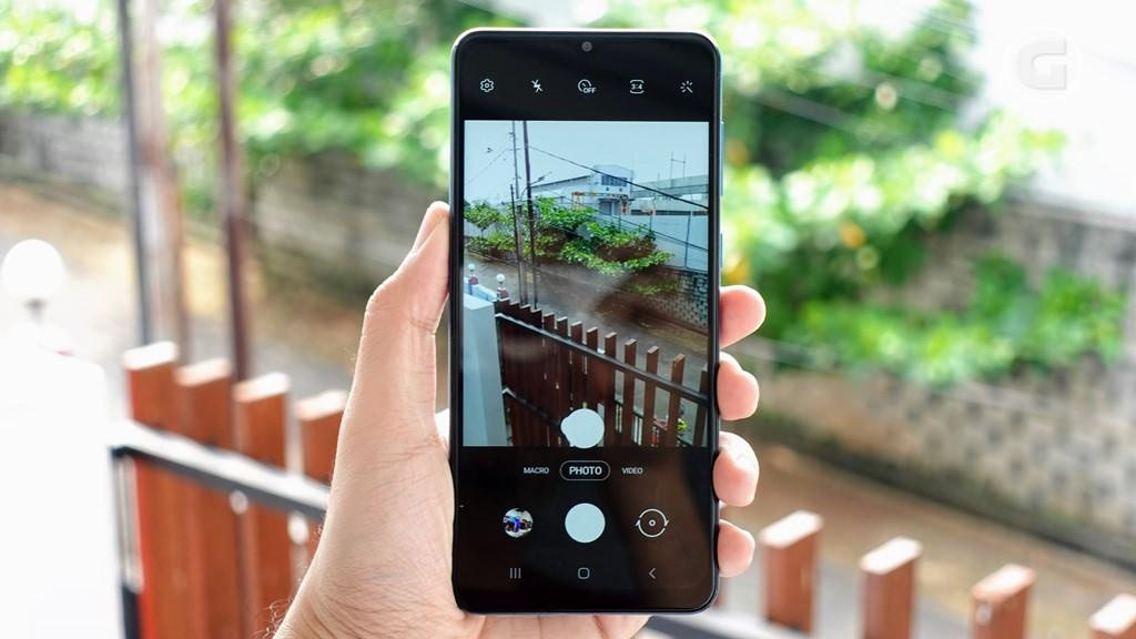 Kamera Samsung Galaxy M02