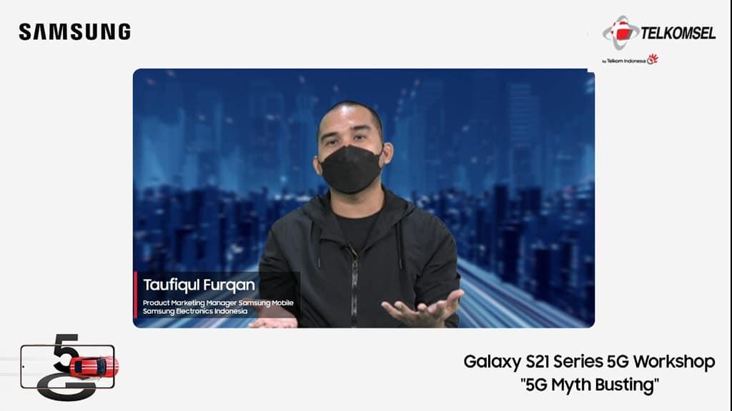 Taufiqul Furqan, Samsung Indonesia