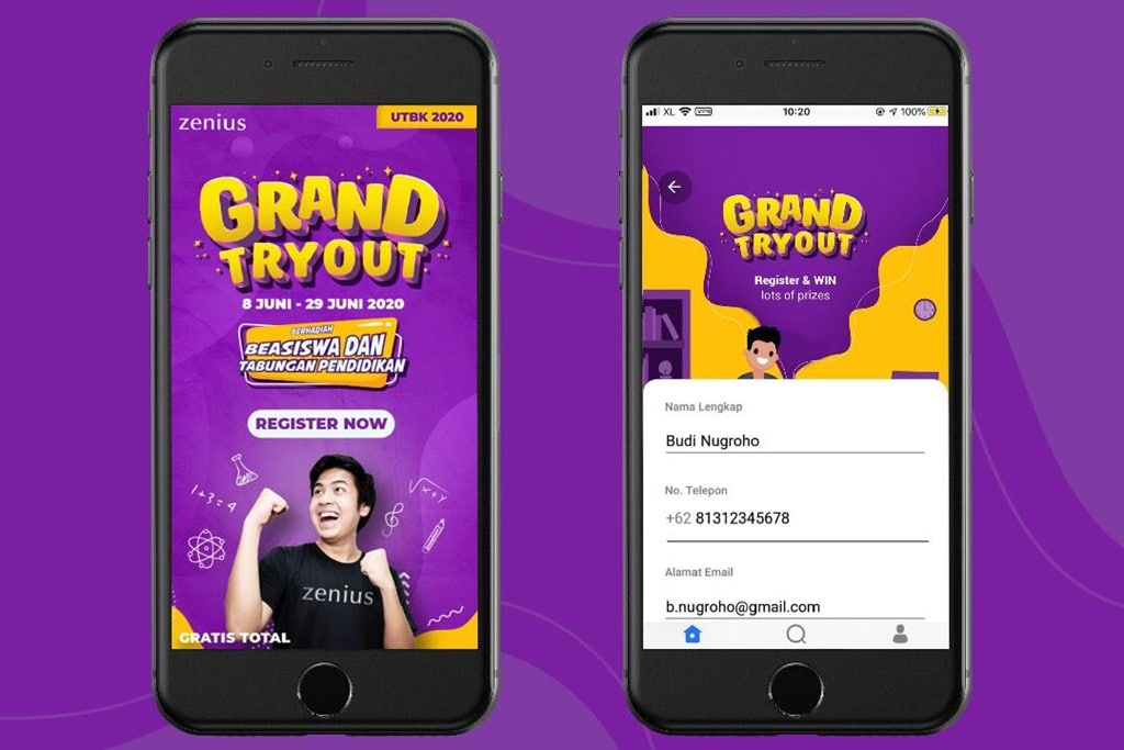 Zenius Grand Try Out