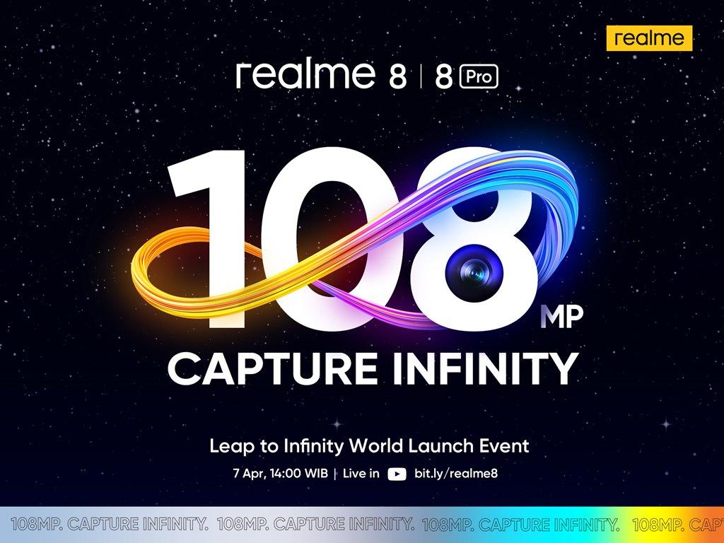 realme 8 launch event