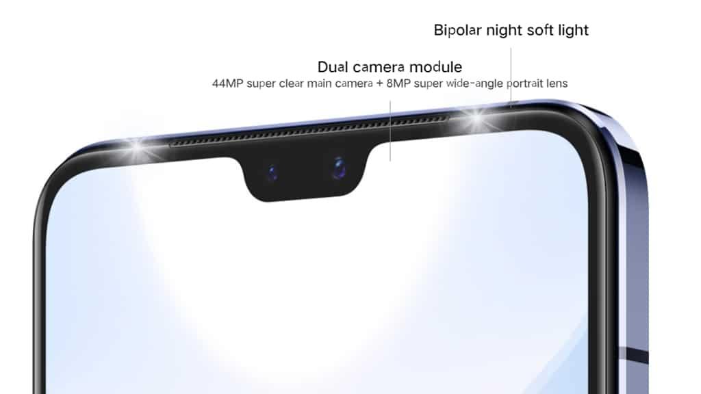 Kamera depan vivo S9 5G