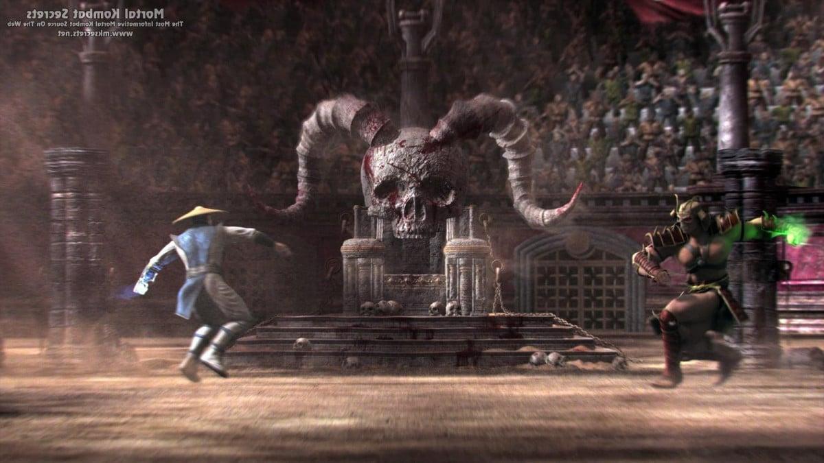 Raiden vs Shao Khan