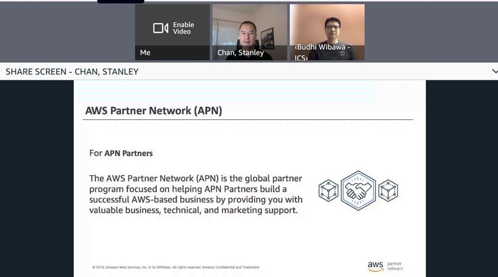 AWS Partner Network virtual press