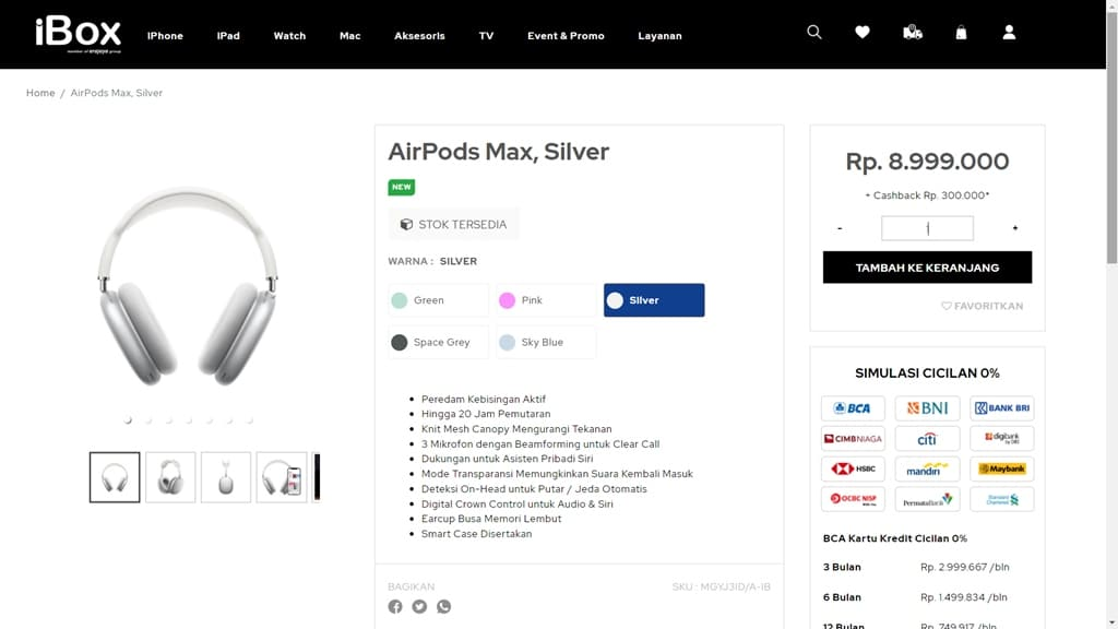 AirPods Max iBox