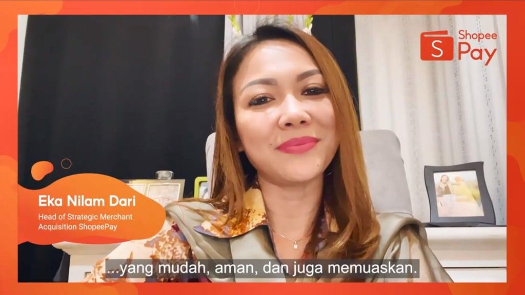 ShopeePay Talk - Eka Nilam