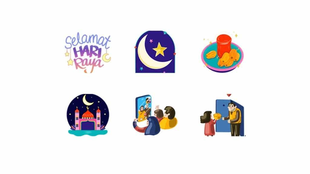 Facebook Stiker Ramadan