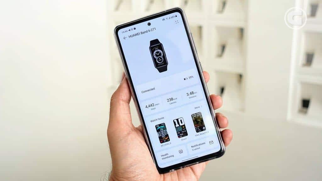 Aplikasi Huawei Band 6