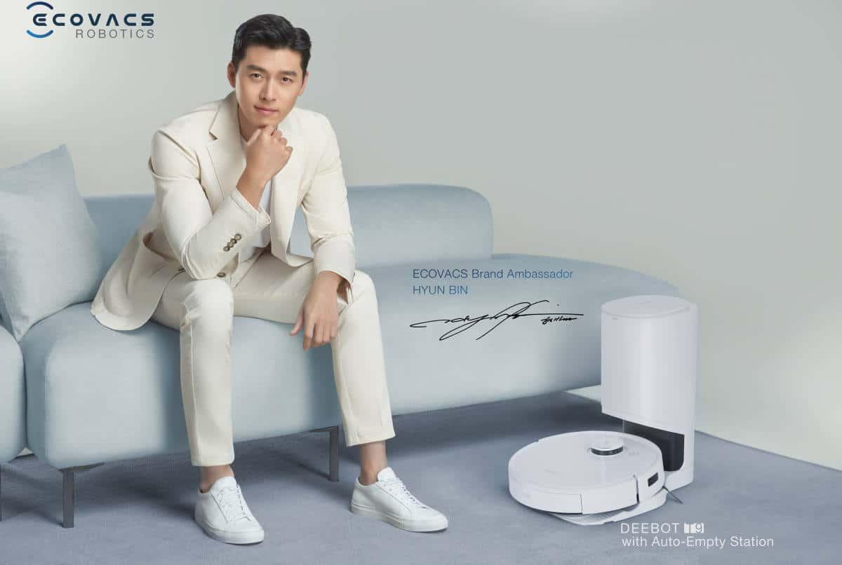 Hyun Bin Ecovacs DEEBOT T9