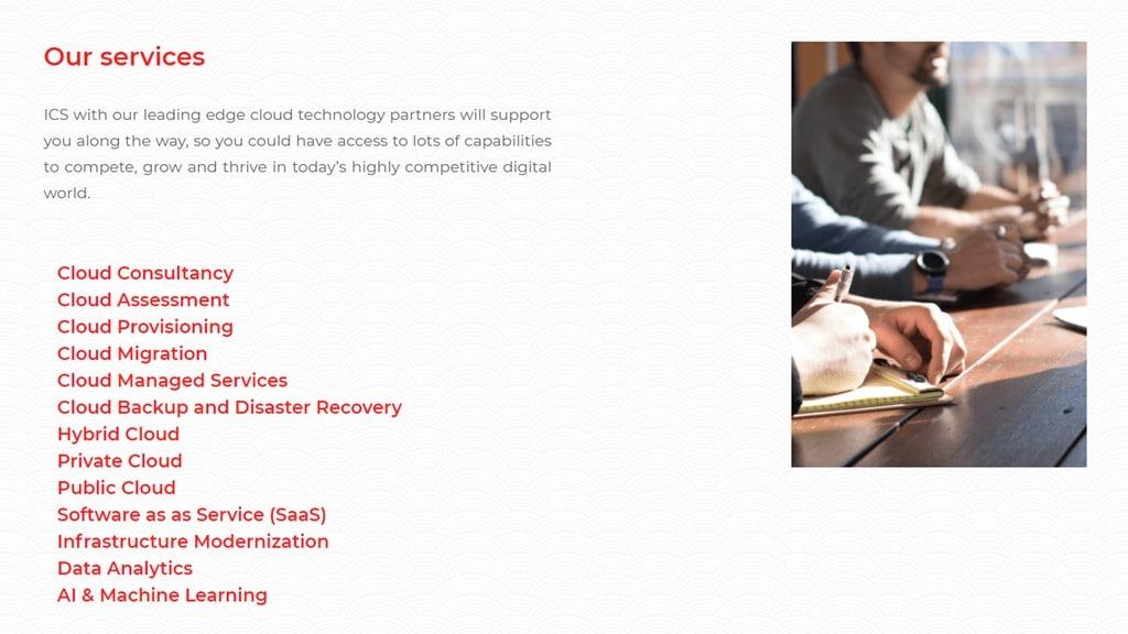 ICS Compute - AWS Partner Network