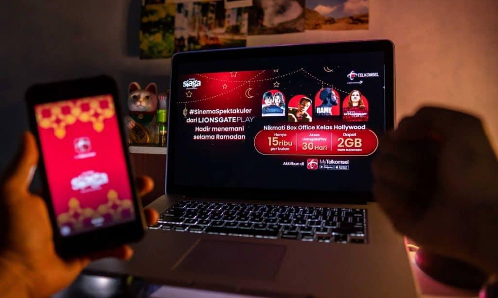 Kolaborasi antara Telkomsel dan Lionsgate Play _3